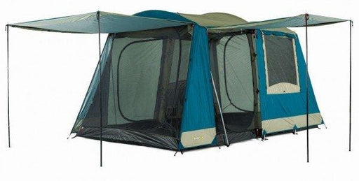 OZtrail Sundowner 6 Dome Tent | Blue/Light Grey - Tent