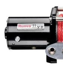 Runva 11XP Winch Replacement 12v Motor | Black - Winch Parts