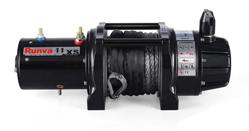Runva 11XS Premium 12V Compact Winch with Synthetic Rope - Electric Winch