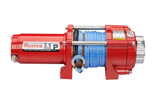 Runva 3.5P 24V Winch with Synthetic Rope - ATV Winch