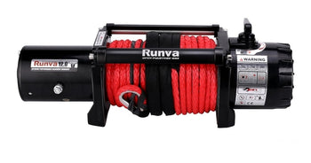 Runva EWV12000 Ultimate 12V/24V Winch with Synthetic Rope