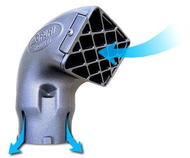Safari 4x4 Air Ram 4 Snorkel Head - New Style (Without Removable Grill) - Snorkels