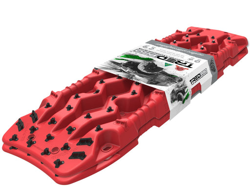 TRED Pro™ All-In-One Off-Road Recovery Tracks - Red - Recovery Tracks