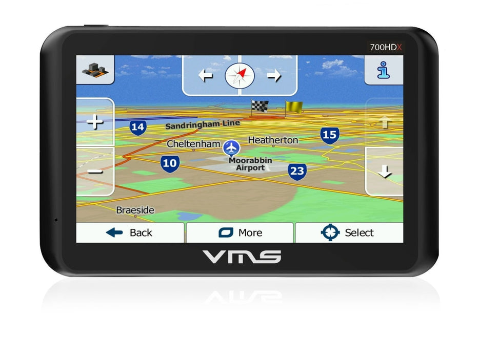 VMS Touring 700HDx GPS with Camera - P700HDX-0001 - GPS