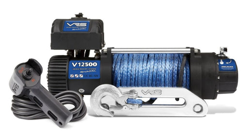 VRS 12500lb 4wd Winch With Synthetic Rope | V12500S | IP68 Rating - Electric Winch