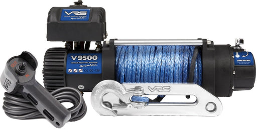 VRS 9500lb 4wd Winch With Synthetic Rope | V9500S | IP68 Rating - Electric Winch