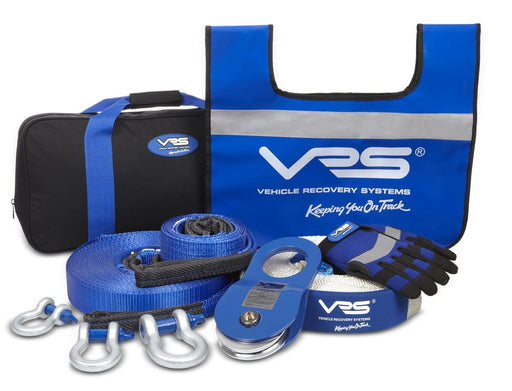 VRS Full 10-Piece 4x4 Recovery Kit & Carry Bag - Recovery Gear