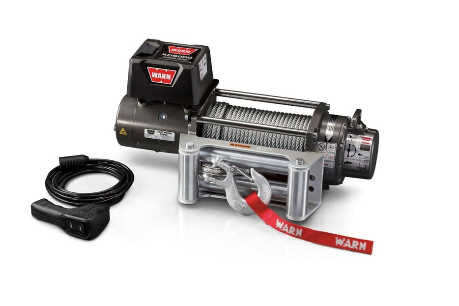 Warn XD9000 12v 9000lb Self Recovery Winch | Steel Wire - Electric Winch