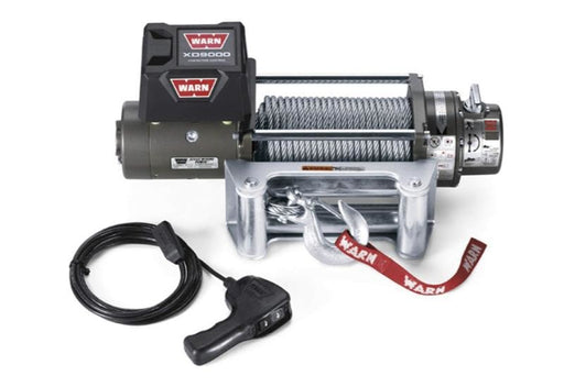 Warn XD9000 12v 9000lb Self Recovery Winch | Steel Wire