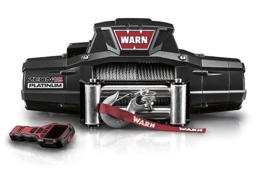 Warn Zeon 12 Platinum 12v 12,000lb Electric Winch | Steel Wire