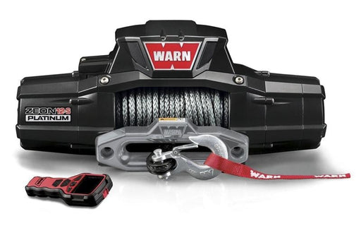 Warn Zeon 12-S Platinum 12v 12,000lb Winch | Synthetic Rope