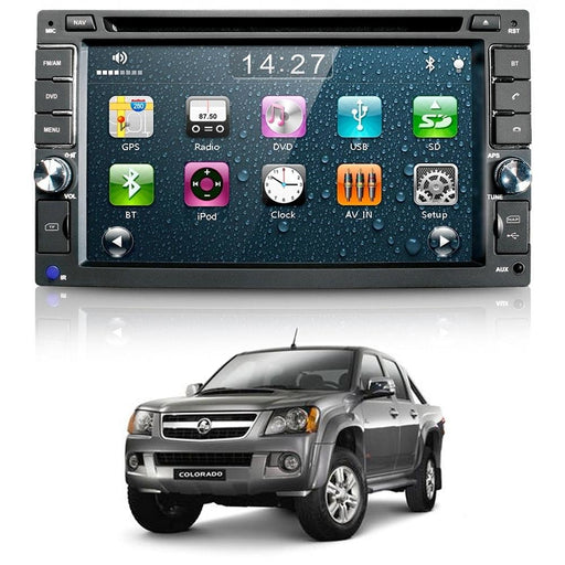 X506 Holden Colorado GPS Navigation Unit with Reverse Camera - GPS