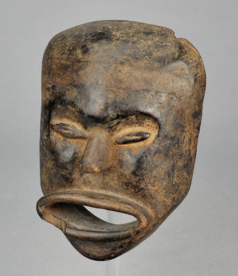 Rare masque anthopomorphe HEMBA Congo Rdc anthropomorphic Mask MC0939