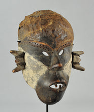 MC1113 Superbe masque guerrier BOA Pongdudu Congo Warrior Mask
