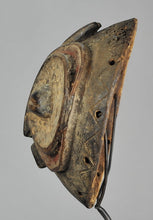 BEMBE Exceptionnel masque zoomorphe hibou - Owl initiation Mask - Congo Rdc MC1147 Luba style