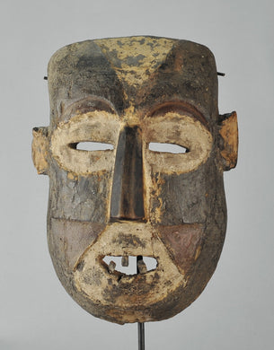 MC1213 Puissant masque guerrier BOA Pongdudu Congo Warrior Mask