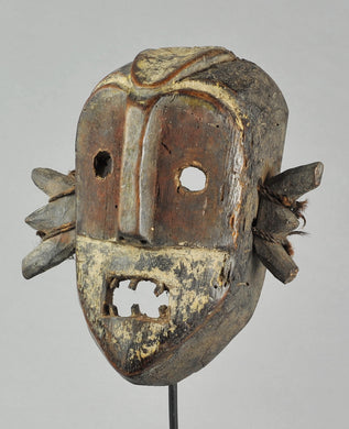 MC1143 Beau masque guerrier BOA Pongdudu Congo Warrior Mask