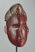 Beau masque polychrome IBIBIO Mask Nigeria MC1238