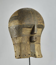 Reserved Auction MC1209 Joli et rare masque Kifwebe miniature LUBA Mask Congo Rdc