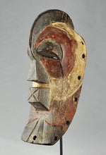 Reserved 25th MC1379 Joli Masque Masculin Miniature SONGYE Kifwebe male Mask Congo