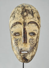 MC1308 Rare grand masque ZANDE AZANDE Mask  Ubangi Congo Rdc