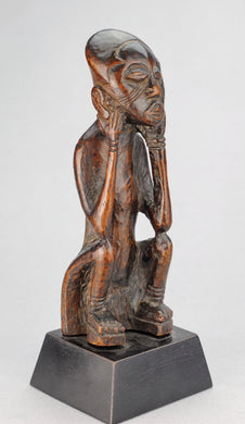Rare et ancienne Statuette KUBA Congo Old Figure African Tribal Art Africain