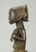 VENDU / SOLD ! MC1275 Belle statue féminine LUBA Female Figure Congo RDC