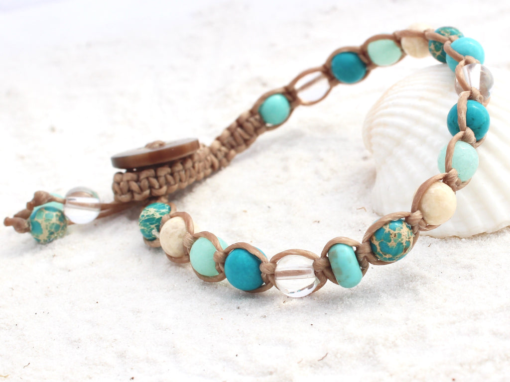 Macrame Single Wrap Bracelet - Hill Inlet