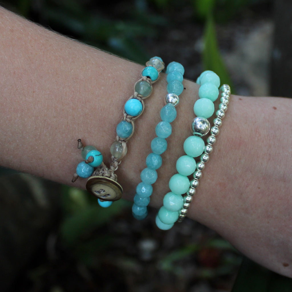 Amazing Amazonite with Ocean Tones