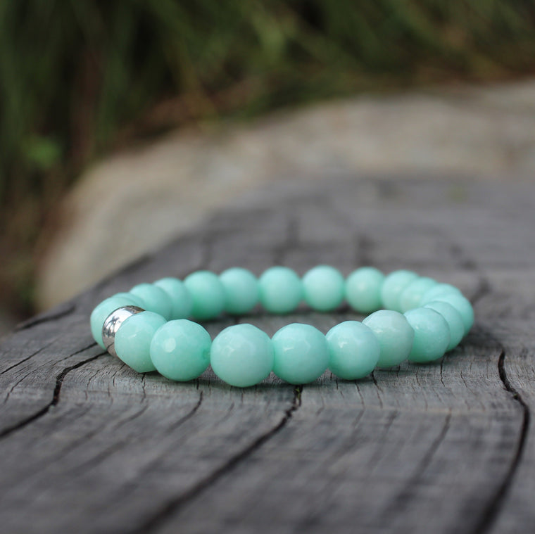 Amazonite 8mm Stretch Bracelet