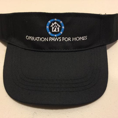 Black Visor with OPH Logo