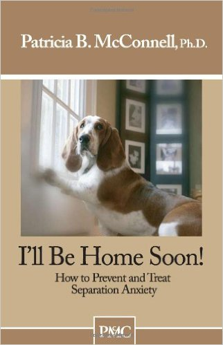 Dog Training Book: I'll be Home Soon: How to Prevent and Treat Separation Anxiety.