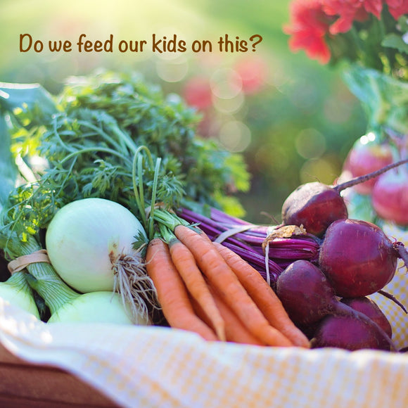 Should we feed our children Organic food?
