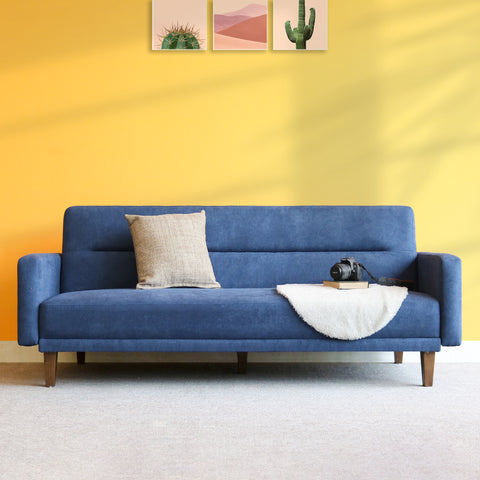 Sofa Bed Bora xanh Indigo 56