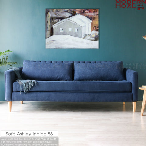 Sofa Ashley xanh Indigo 56