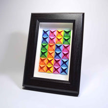 Framed Art (Rainbow/black)