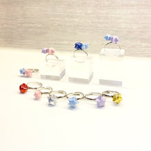 Double Lucky Star Ring (Pink+Blue)