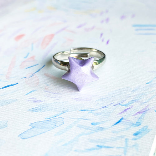 Lucky Star Ring (Lavender)
