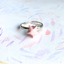 Lucky Star Ring (Pink)