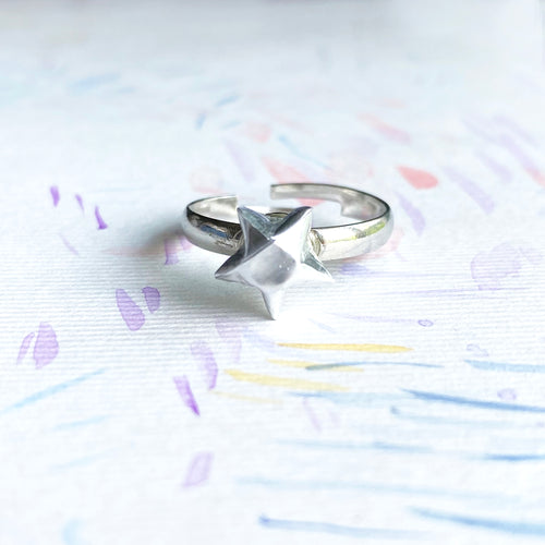 Lucky Star Ring (Silver)