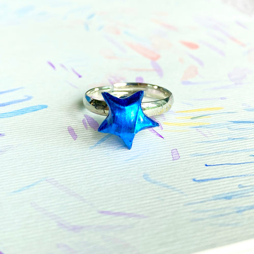 Lucky Star Ring (Shinny Blue)