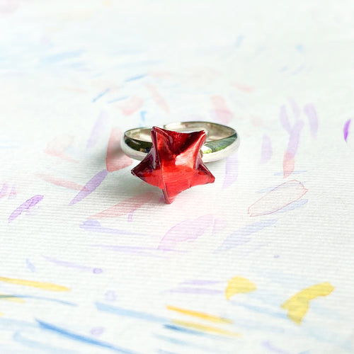 Lucky Star Ring (Shinny Red)