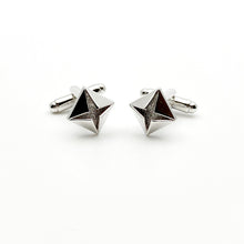 Platinum Diamond Classic Cuff Links