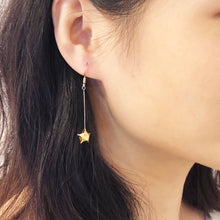 Shooting Star Earrings/ Ear Clips (Gold)