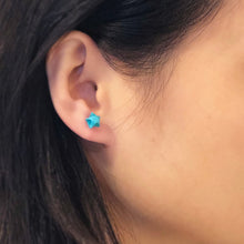 Lucky Star Earrings (Turquoise)