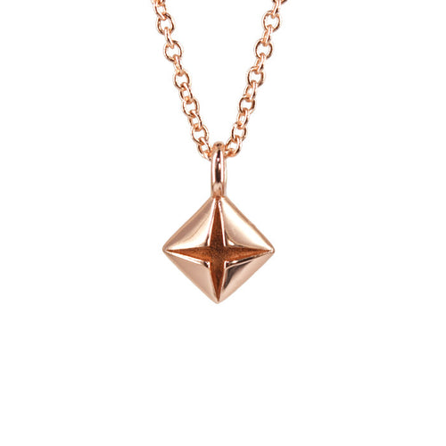 14K Rose Gold Classic Necklace