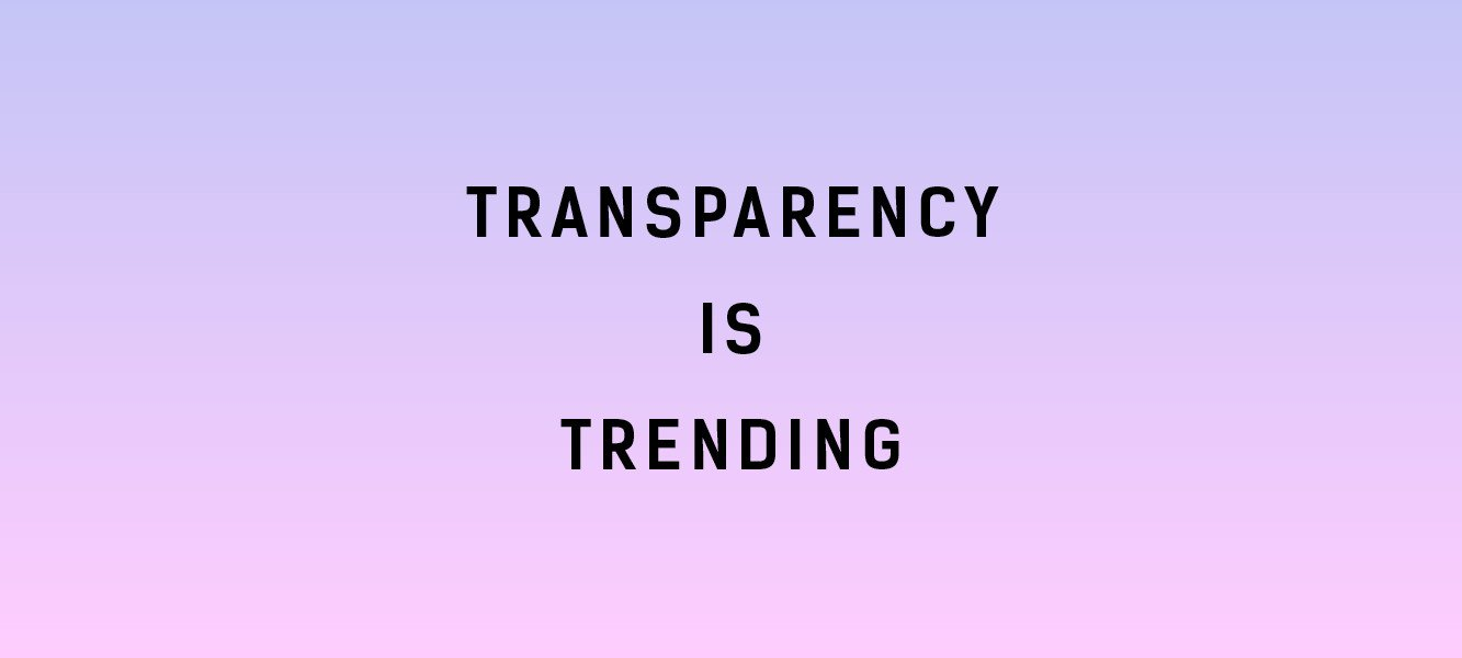 What does Fashion Transparency mean?