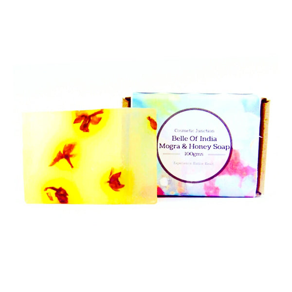 Belle Of India-Mogra Honey Soap - Rossbelle