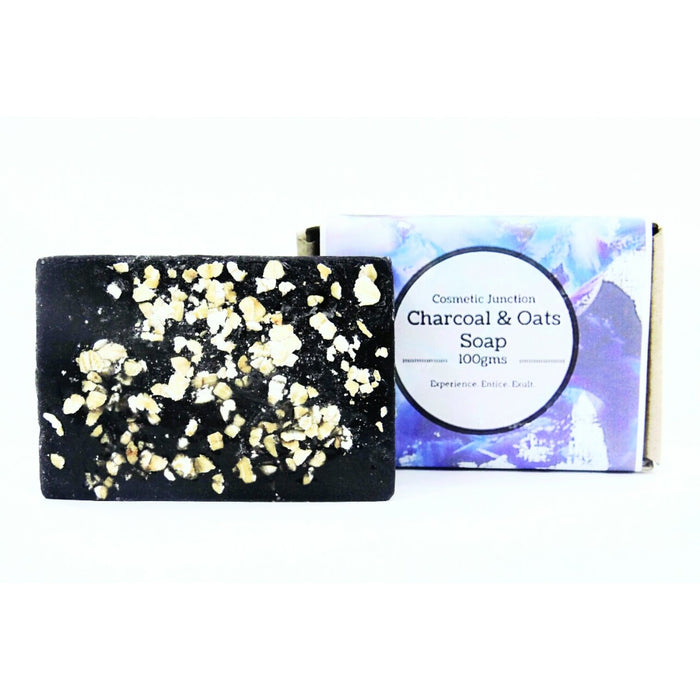 Charcoal & Oats Soap - Rossbelle