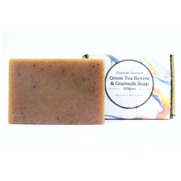 Green Tea Revive & Goatmilk Soap - Rossbelle